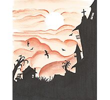 Blood Red Sky Photographic Print