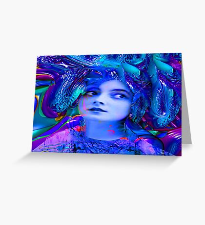 Crystal Cave Greeting Card