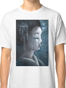 Geisha in Snow: The Stoic Concubine Classic T-Shirt