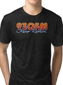 93 QFM Radio Tri-blend T-Shirt