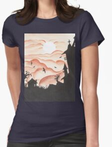 Blood Red Sky Womens Fitted T-Shirt
