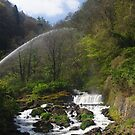 Waterfall at Lynmouth by James1980