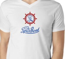 the Spice Boat Mens V-Neck T-Shirt