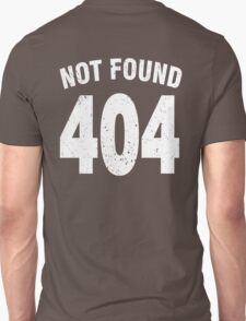 Team shirt - 404 Not Found, white T-Shirt