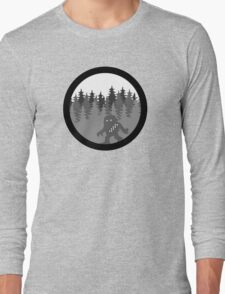 Wook-a-bout - Solo Space Ape -  MonoChrome Version Long Sleeve T-Shirt