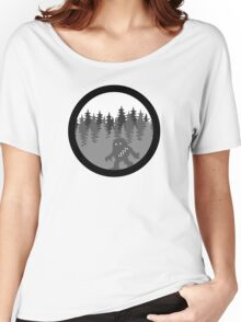 Wook-a-bout - Solo Space Ape -  MonoChrome Version Women's Relaxed Fit T-Shirt