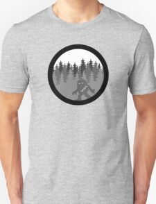 Wook-a-bout - Solo Space Ape -  MonoChrome Version Unisex T-Shirt