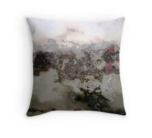 Sedimentary Depositions Throw Pillow