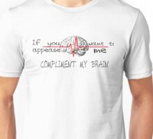 Brain-Grey's Anatomy Unisex T-Shirt