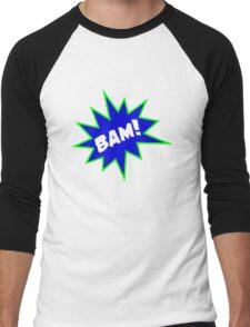 BAM Men's Baseball ¾ T-Shirt