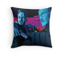 Jesse and Walter Throw Pillow
