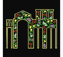 Flower Factory - Man vs Nature Photographic Print
