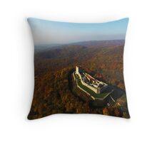Medvedgrad castle in Zagreb, Croatia Throw Pillow