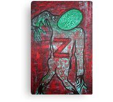 Z 4 Zombie Canvas Print