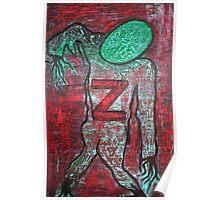 Z 4 Zombie Poster