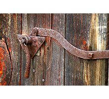 RUST  Holds........... Photographic Print