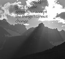 Serenity Prayer by Jeff Johannsen