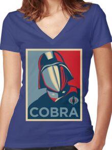 Cobra - Hope Women's Fitted V-Neck T-Shirt