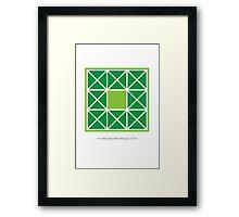 Design 96 Framed Print