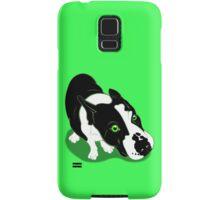 Mr Bull Terrier Green Samsung Galaxy Case/Skin