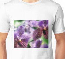 Purple Orchids  ... no border Unisex T-Shirt
