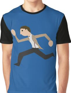 Run, Eleventh Doctor, Run! Graphic T-Shirt
