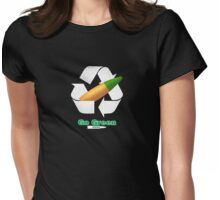 Green Tip v2 Womens Fitted T-Shirt