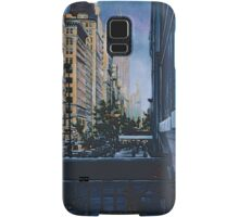 A Moment Hush in the City Limits, New York City Samsung Galaxy Case/Skin