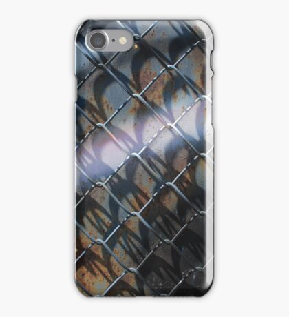 Abstract Colors and Fence iPhone Case/Skin
