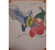 Kirby Super Sword Photographic Print