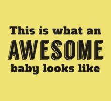 Awesome Baby Kids Tee