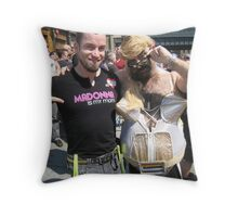 Madonna is my mom! Throw Pillow