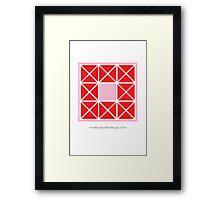 Design 97 Framed Print