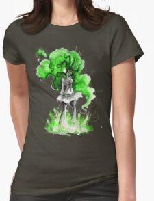 Rainbow Punk: Malachite Bassdrop Womens Fitted T-Shirt
