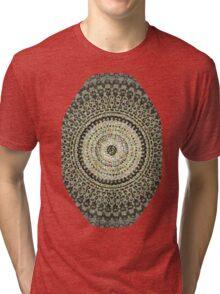 Fractal Kaleido Study 004 in CMR Tri-blend T-Shirt