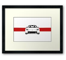 AP2 with red stripe Framed Print