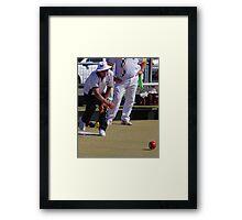 M.B.A. Bowler no. a128 Framed Print