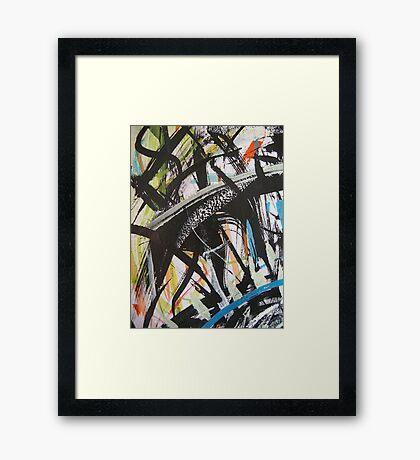 higher up .... Framed Print