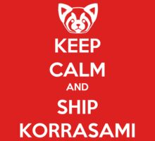 Keep Calm and Ship Korrasami! by SpazzyFanGirl