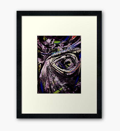 eye... different species Framed Print