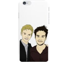 Thomas Brodie-Sangster and Dylan O'Brien iPhone Case/Skin
