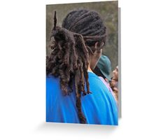 Dreads! Greeting Card