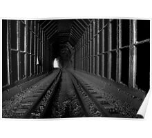 Black Canyon Train Tunnel Poster