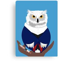 Doctor Whoo (12th) Canvas Print