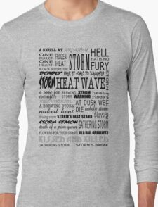 Richard Castle Long Sleeve T-Shirt
