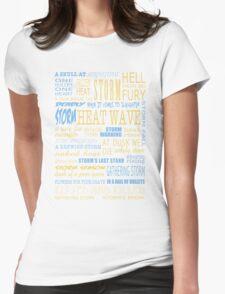 Richard Castle v3 Womens Fitted T-Shirt