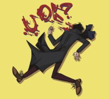 Sherlock: u ok? (without background) T-Shirt