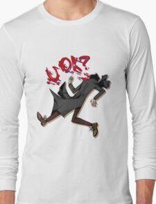 Sherlock: u ok? (without background) Long Sleeve T-Shirt