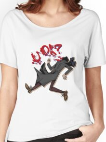 Sherlock: u ok? (without background) Women's Relaxed Fit T-Shirt