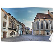 Sopron street III Poster